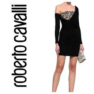 BNWT Roberto Cavalli Sequin Draped Dress US4/IT 40